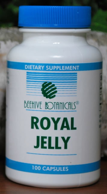 Royal Jelly Capsules, 334 mg