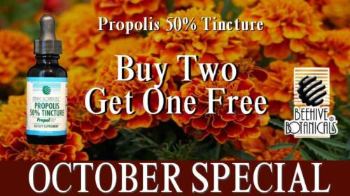 buy 2 propolis 50% tinctures get one free