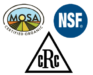 MOSA, NSF, CRC Certified